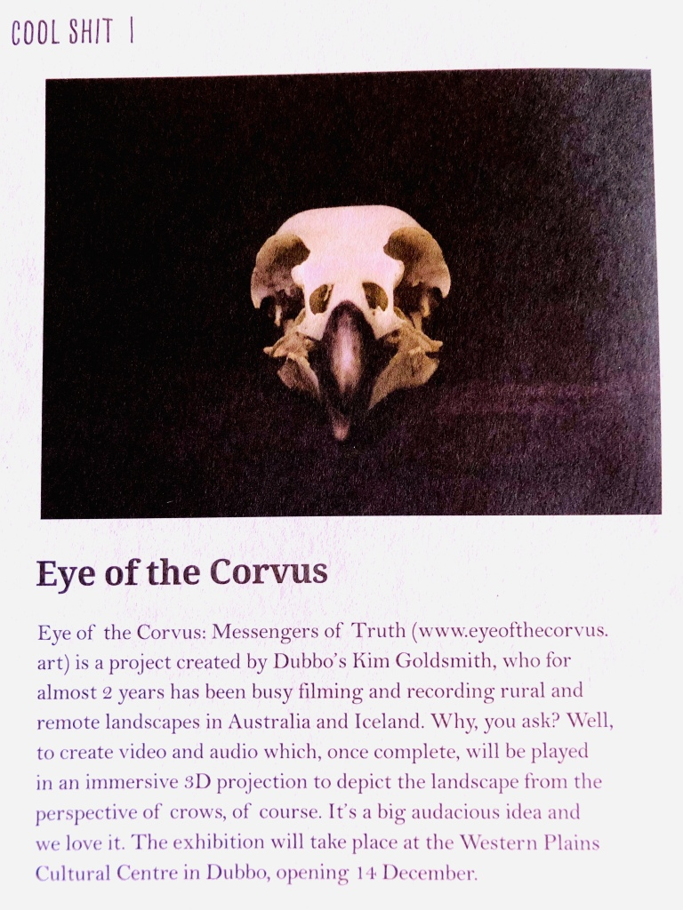 Eye of the Corvus in LIVE Central West